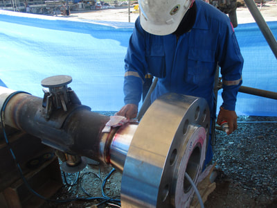 Welding Inspection - Pipe welding Melbourne